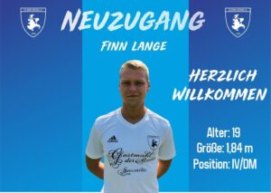 Read more about the article Neuzugang Finn Lange