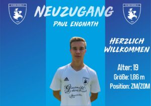 Read more about the article Neuzugang Paul Engnath